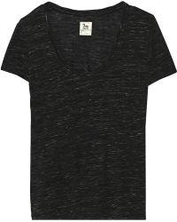 La't By L'agence Slub Jersey T-Shirt - Lyst