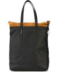 Agnona - Panelled Shopper Tote - Lyst