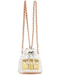 Moschino Mini Quilted Backpack - Lyst