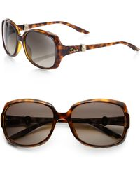 Dior Mystere 2 56mm Cats-eye Sunglasses - Lyst