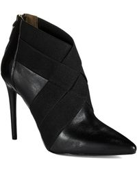 Kenneth Cole Wyne Booties - Lyst