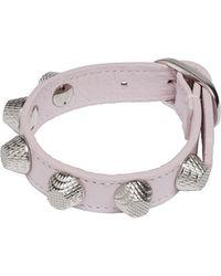 Balenciaga Giant Silver Bracelet Stud - Lyst