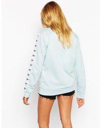 Hype - Sweatshirt With Tape Logo Detail - Lyst