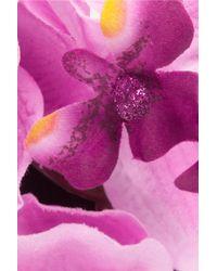Piers Atkinson - Silk Orchid Headband - Lyst
