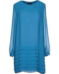 Karen Walker Short Dress - Lyst