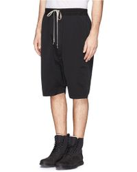 DRKSHDW by Rick Owens Drop Crotch Shorts - Lyst