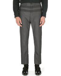 Vivienne Westwood James Bond Checked Trousers Grey Windowpane - Lyst