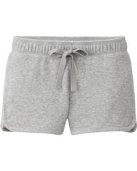 Uniqlo Women Pile Shorts - Lyst