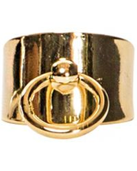 Pixie Market Gold Handle Ring - Lyst