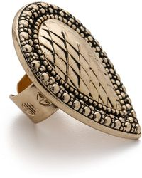 Samantha Wills Bohemian Bardot Armour Ring - Antique Gold - Lyst
