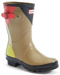 Hunter 'Original Short - Dazzle' Waterproof Rain Boot - Lyst