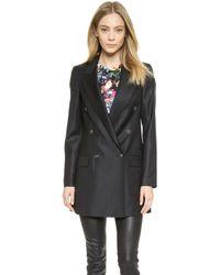 McQ by Alexander McQueen Tuxedo Jacket - Black - Lyst
