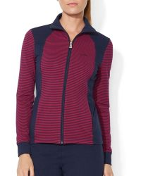Ralph Lauren Lauren Active Zip Jacket - Lyst