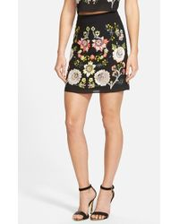 Needle & Thread Embellished A-Line Skirt - Lyst