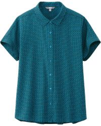 Uniqlo Women Jonathan Adler Short Sleeve Blouse - Lyst
