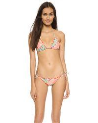 ViX Sofia By Vix Provence Ripple Bikini Top - Provence - Lyst