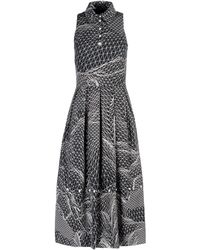 Christopher Kane 3/4 Length Dress white - Lyst