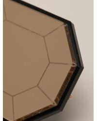 Yazbukey - Diamond Brooch - Lyst