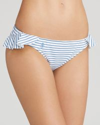 Ralph Lauren - Polo Summer Stripe Ruffle Hipster Bikini Bottom - Lyst