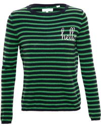 Chinti & Parker Striped Cashmere Hello Jumper - Lyst