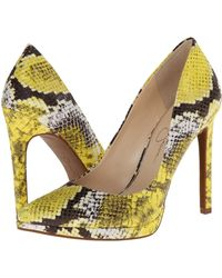 Jessica Simpson Yellow Brynn - Lyst