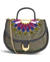 Matthew Williamson - Women's Embellished Micro Satchel Bag - Lyst