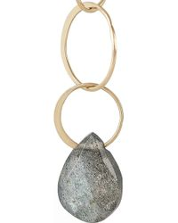 Melissa Joy Manning - 14-Karat Gold Labradorite Earrings - Lyst