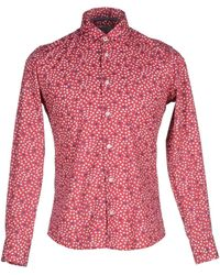At.p.co | red Shirt | Lyst