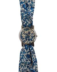 Liberty - Large Emma and Georgina Print Knot Watch - Lyst