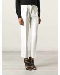 Forte Forte High Waisted Trousers - Lyst