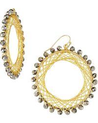 Nakamol Beaded Spiral-Wire Earrings - Lyst
