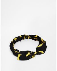 Asos Limited Edition Banana Headband - Lyst