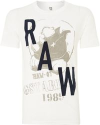 G-star Raw One Pocket Crew Neck Tshirt - Lyst