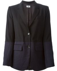 Sonia By Sonia Rykiel Colour Block Blazer - Lyst
