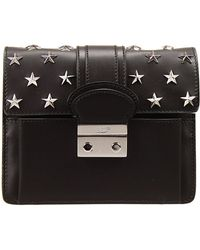 RED Valentino Handbag Bag Shoulder Leather With Star Studs - Lyst