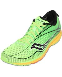 Saucony Type A6 Nylon Mesh Running Sneakers - Lyst