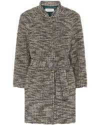 Paul by Paul Smith - Textured Tweed Cocoon Coat - Lyst
