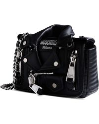 Moschino Small Leather Bag - Lyst