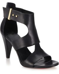 Cole Haan Moama Leather Sandals black - Lyst