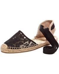 Soludos Chantilly Lace Sandal black - Lyst