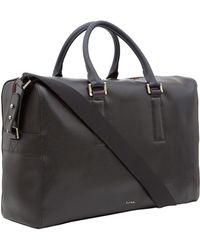 Paul Smith Black Pebble Leather Bag - Lyst