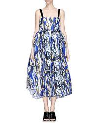 Ellery 'Zissou' Oversize Silk Organza Bubble Dress - Lyst