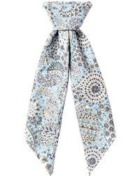 Sunspel - Women's Cotton Liberty Print Scarf - Lyst