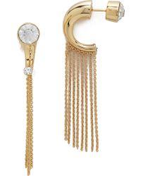 Noir Jewelry - Noir Jewellery - Gold/Clear - Lyst