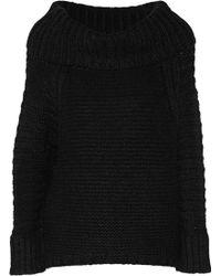 Donna Karan New York Alpaca Silk Cashmere and Woolblend Sweater - Lyst