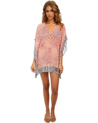 Tommy Bahama Coral Medallion Tunic Cover-Up - Lyst