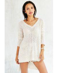 Olive & Oak - Femme Stitch High/low Sweater - Lyst