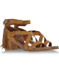 Belle By Sigerson Morrison Sandals brown - Lyst