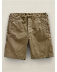 RRL Officers Chino Short - Lyst