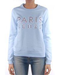 Kenzo Sky Blue Paris Sweatshirt - Lyst